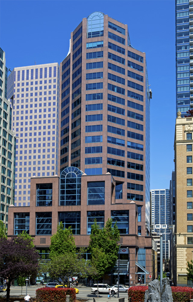 HSBC Building office tower in Vancouver. Photo by Klazu, on May 29th, 2015. Licensed under the Creative Commons Attribution-Share Alike 4.0 International license